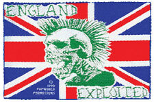 The Exploited-Patch ricamate-INGHILTERRA NUOVO!