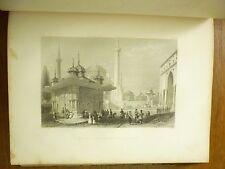 c1840 BEAUTIES of the BOSPHORUS Pardoe TURKEY Europe BARTLETT ILLUSTRATIONS