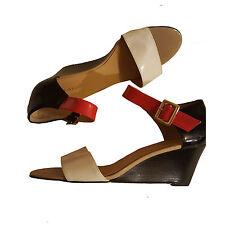 Nine West Women'  Open Toe Wedge Sandals sz 10