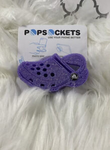 Crocs Shoes Inspired Phone Grip PURPLE
