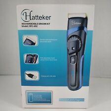 Hatteker Rechargeable Cord-cordless Hair Clipper Set (RFC-692) Open Box Read Des