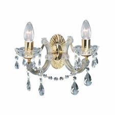 Brass LED Wall Chandeliers