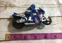 Hot Wheels Vintage Motorcycle With Rider Oversized