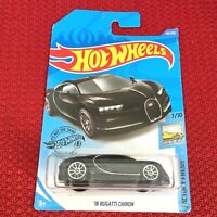 Hot Wheels BUGATTI CHIRON BLACK Mattel Sport Car Toy Brand NEW and Sealed