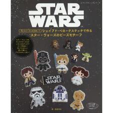STAR WARS Beads Motif Shaped & Peyote Stitch Japanese Craft Book Japan