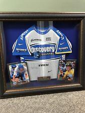Lance Armstrong Framed Autographed Tour de France Jersey