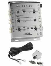 Hifonics HFXR 3-Way Active Crossover With Remote & 8.5 Volt Preamp Output