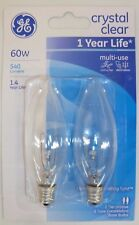 General Electric 60w Decorative B type Candelabra Base Bulb 76229