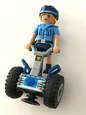 PLAYMOBIL  -  POLICE GIRL + SEGWAY - NEW & RARE