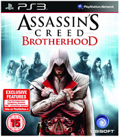 PS3 - Assassins Creed Brotherhood **New & Sealed** Official UK Stock