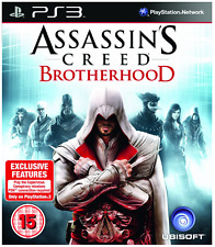 PS3-ASSASSINI Creed Fratellanza ** Nuovo e Sigillato ** UFFICIALE STOCK Regno Unito