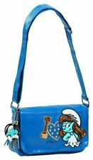 Smurfette Handbag BLUE BAG Shoulder strap ORIGINAL Official SMURFS Smurfette NEW
