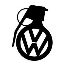 Vw Volkswagen Grenade car vinyl sticker decal U Pick Size & Color