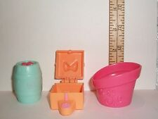 HASBRO LITTLEST PET SHOP FOOD CONTAINER TOY ACCESSORY LOT PREOWNED