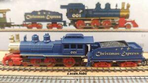 Marklin 4-6-0 Z Scale USA Steam Steamer Locomotive Kit-Bash Christmas *NEW *USA