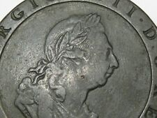 Better-Grade 1797 Great Britain Penny. King George III. 36mm.  #152