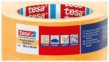 5x tesa® Präzisionskrepp 4344 Standard 25mm x 50m - randscharfe Farbkanten -