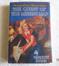 American Girl MOLLY Nancy Drew Mini Book Nighttime Necessities Quest Map EUC