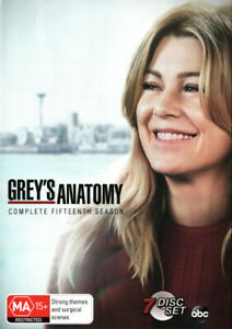 Grey's Anatomy: Season 15 - DVD (NEW & SEALED)