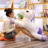 Soft Giant Plush Unicorn Toy Large Stuffed Animal Doll Toys  For Children Girls