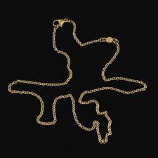 Georg Jensen. 18k Gold Anchor Chain - 38 cm.