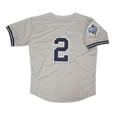 Derek Jeter New York Yankees 1998 World Series Grey Road Jersey Men's XL