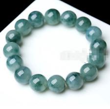 Natural 10mm Emerald Round Gemstone Beads Stretchy Bangle Bracelet 7.5''