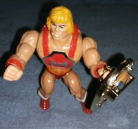 Power Punch He-Man 1984 MOTU Masters of the Universe Collectible + shield RARE