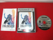 16.1.31.5 FINAL FANTASY XII ps2 jeu Playstation 2 Pal avec notice VF
