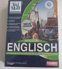 TELL ME MORE 6.0 - Englisch Mittelstufe (CD-ROM) Cornelsen Software New & OVP