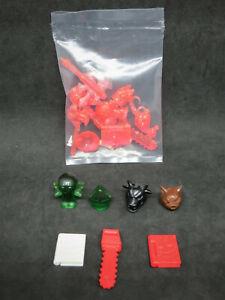 Munchkin Crazy Bricks 17 Accessories Rare Translucent Pink Card Game Building