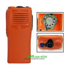 Orange Replacement Housing Case For MOTOROLA CP200 Radio with OEM Speaker