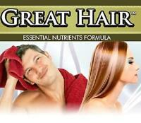 Great Hair Loss Tablets Thinning Growth Pills Prevents Stop Split Baldness Shiny