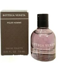 SAMPLE SIZE POUR HOMME BY BOTTEGA VENETA MINI .25 OZ / 7.5 ML NEW IN BOX MEN NIB