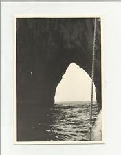 91913 FOTOGRAFIA FOTO ORIGINALE CAPRI  1960