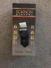 NEW ROKINON D950AFZ DIGITAL BOUNCE ZOOM ELECTRONIC FLASH f/NIKON CANON CAMERAS