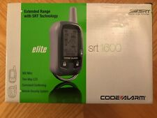 New listing Code Alarm Srt1600 2-Way Paging Car Alarm Security System Brand New in Box