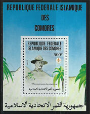 Comoro Islands SC542 Souv.Sht. Scouting-Powell MNH 1982