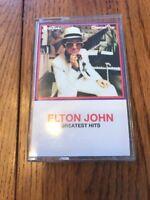 Elton John Greatest Hits Rare Vintage Cassette Ships N 24h