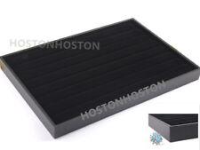 Large Black Velvet Ring Display Tray/Box Showcase ( UP TO 100 RINGS)