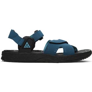New Nike ACG Air Deschutz (CT2890-400) - Blue/ Black, Sport Sandal Shoes