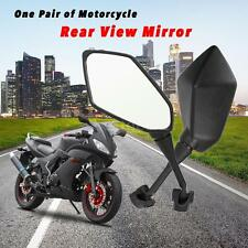 2X Motorcycle Rear View Mirror Side View Mirrors ATVRacing Bike Universal I3B3