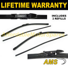 """FRONT WINDSCREEN WIPER BLADES PAIR 23"""" + 24"""" FOR BMW 5 SERIES E60 2003-2010"""