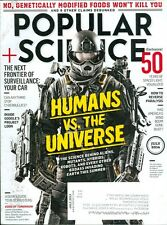 2014 Popular Science Magazine: Humans vs. The Universe/Aliens/Robot/Project Loon