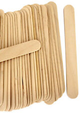 100 LARGE SPATULAS PROFESSIONAL DISPOSABLE WOODEN WAXING WAX STICKS SPATULA BODY