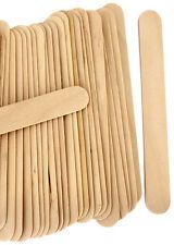 100 GRANDI SPATOLE Professional legno monouso Waxing CERA BASTONCINI spatola Corpo