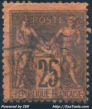 FRANCE SAGE N° 91 AVEC OBLITERATION