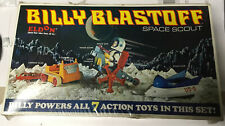 Vintage Billy Blastoff Space Scout 8 Piece Set In Unopened Original Packaging