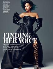 Demi Lovato 4pg ALLURE magazine feature, clippings
