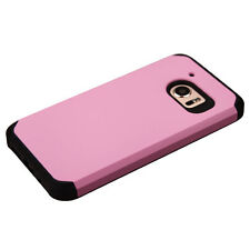 For HTC 10 Hybrid Rubber Dual Layers Hard Soft Protective Case Cover Thin PINK